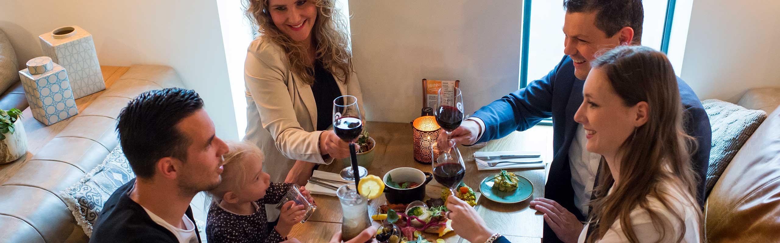 Lunch, dineer en borrel in een heerlijke lounge sfeer